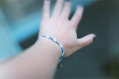 322/365 (kelley f) Tags: girls summer film girl self 35mm hands mine pin hand minolta skin nail fingers polish 35mmfilm bracelet 365 nailpolish safetypin xd5 sooc minoltaxd5 summer2012
