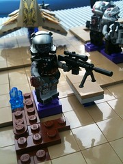 Pit scourge sniper (V TOP KEK) Tags: fan war lego space halo pit 40k warhammer theme gears orks killzone scourge