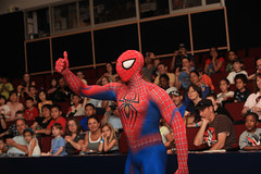 Spider-Man: Live at NYSCI (NYSCI) Tags: usa ny newyork comics unitedstates broadway spiderman queens marvel