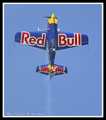 RED BULL GIVES YOU WINGS! (Wings & Wheels Photography.) Tags: duxford bdp cambridgeshire 2012 imperialwarmuseum iwm canoneos7d redbullmatadors sbach300 bluediamondphotographic jubileeairshow