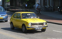 Honda Civic 1977 (XBXG) Tags: auto old classic haarlem netherlands car japan vintage honda asian japanese automobile nederland voiture civic 1977 paysbas japon ancienne asiatique hondacivic japonaise 30te88