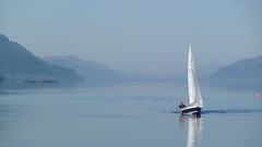 Loch Ness (Tracey Paterson) Tags: summer water scotland highlands scenery sailing yacht loch lochness inverness
