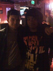 Me & Toby from STR (rickykentmarlowe) Tags: music popculture sparkstherescue alexroy rickymarlowe