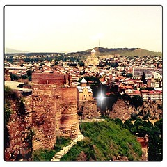 The #skyline of #tbilisi