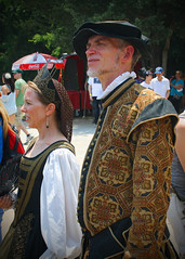 Tennessee Renaissance Festival 2012  A Handsome Couple (oldsouthvideo) Tags: costumes castle festival spring tn tennessee pirates may queen fairy armor taylor knight faire troll swift renaissance ik jousting regal triune tapestry 2012 fairie gwynn arrington