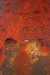 rust (mevrain) Tags: beach pier rust