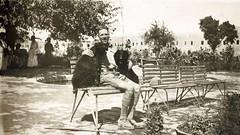 Public garden Kirkuk (San Diego Air & Space Museum Archives) Tags: iraq middleeast raf kirkuk royalairforce edwinnewman