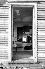 Decomposing America VI (PJ Resnick) Tags: door wood blackandwhite bw white black texture abandoned kitchen monochrome contrast trash canon grey blackwhite chair paint antique decay farm gray neglected atmosphere monochromatic americana weathered discarded peelingpaint winfield decayed chicagoland resnick decomposing dupagecounty canonef1740mmf4l winfieldil innamoramento oldandbeautiful dupagecountyil 5dmarkii canon5dmarkii eos5dmarkll bestcapturesaoi pjresnick pjresnick pjresnickgmailcom decomposingamerica perryjresnick pjresnick