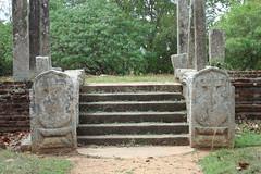 Ruins near Sinha Pokuna (the Lion Pond), Mihintale, Sri Lanka (Hasitha Rangana) Tags: temple buddhisttemple sacredsite anuradhapura anuradapura sagiri mihinthale segiri missaka cetiyagiri solosmasthana missakapabbata missakapawwa missakapavva