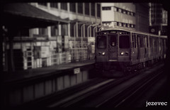 "2012-03-13 [649] Chicago ""L"" station - Randolph & Wabash (Badger 23) Tags: chicago art train cta photos l masstransit elevated wabash 2012 randolph chicagoillinois chicagotransitauthority jezevec  photosof    ltrian         badger23  ikago   tsikago"