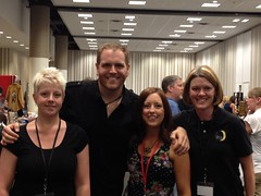 Tammy, Stefanie, and Heather hanging out with Josh Gates at Through The Veil 2012 (Paranormal Georgia Investigations) Tags: atlanta georgia ghosts paranormal hauntings pgi ghosthunters throughtheveil joshgates destinationtruth paranormalinvestigators northgeorgiaghosthunters northgeorgiaparanormalinvestigators atlantaghosthunters atlantaparanormalinvestigators paranormalgeorgiainvestigations georgiaghosthunters georgiaparanormalinvestigators paranormalgeorgia paranormalgeorgiacom