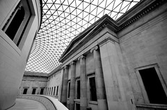 The British Museum (brent flanders) Tags: uk blackandwhite bw london blackwhite nikon britishmuseum thebritishmuseum antiquities sirhanssloane d7000 nikond7000 nikon1024mmf3545gedafsdxnikkorwideanglezoomlens