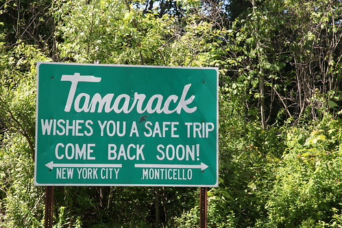 Tamarack wishes you a safe trip