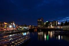Amsterdam (Higher Rez) 6-2012 (daver6sf@yahoo.com) Tags: amsterdam boats nightshot amsterdamcanal amdterdam