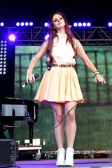 Lana Del Rey (Burak Cingi (youneedtoseethese)) Tags: music june festival live livemusic 2012 lovebox loveboxfestival burakcingi lanadelrey