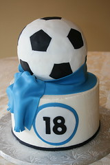 Soccer 18th Birthday (irresistibledesserts) Tags: birthday boy soccer 18