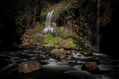002_3174: Mossbrae falls (Shawn-Yang) Tags: california panorama green water canon landscape rainbow paradise falls mount waterfalls ethereal shasta flowing lush northern cascade dunsmuir mossbrae