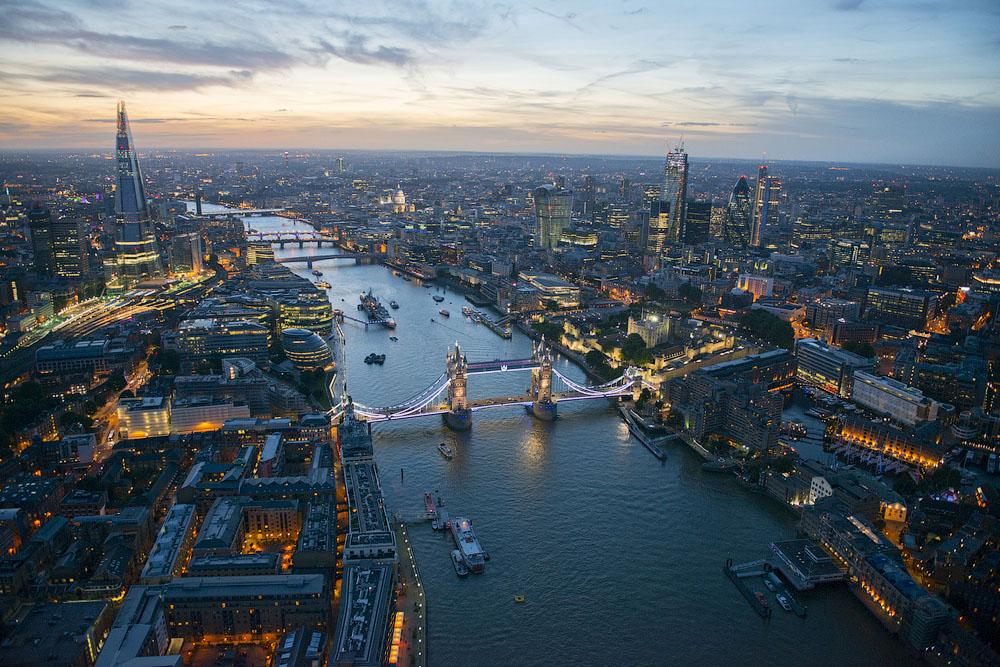фото Лондона с высоты
