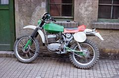 Meine zweite Kleinserien-GS, MZ ETS 250 G 5, Saison 1985 (planetvielfalt) Tags: ddr enduro mz exa1a kleinserie vomdia admv motorradgeländesport