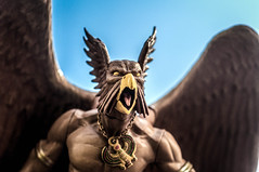 Meanwhile, On Some Other Plane of Existence... (misterperturbed) Tags: horus dccomics kingdomcome northwind alexross hawkman dcdirect hawkgod