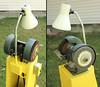 Bench grinder - close up (lungstruck) Tags: diy equipment grinder tool powertool benchgrinder pedestalgrinder