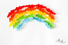 Arc en ciel de bonbons (Aline Sprauel Photography (AS photos)) Tags: canon photography photo rainbow crocodile bonbon haribo arcenciel photographe alinesprauel