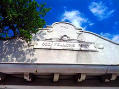 Odd Fellows Rest Cemetery (Exile on Ontario St) Tags: new sky cemeteries usa cemetery grave architecture orleans louisiana gate unitedstates neworleans tombstone entrance graves odd ciel rest vault nola tombstones nouvelle fellows entre oddfellows tombe louisiane orlans cimetire vaults tombes oddfellowsrest cimetires nouvelleorlans lanouvelleorlans nola2012