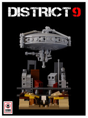 District 9 (Sad Brick) Tags: movie lego micro moc microscale district9
