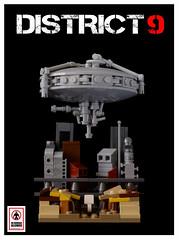 District 9 (Sad Brick) Tags: movie lego micro moc microscale district9