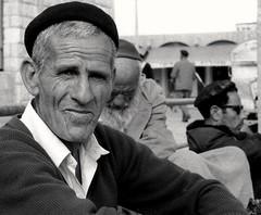 East Jerusalem 1971 (Dizzy Atmosphere) Tags: palestine westbank jerusalem eastjerusalem beret sook marketplace israel
