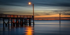 Sounds of Silence (Images by Christie  Happy Clicks for 2016!) Tags: nightphotography light sunset canada night twilight nikon bc tripod fave explore crescentbeach metrovancouver d5200