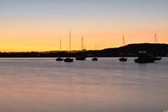 Daybreak at Tascott (Merrillie) Tags: longexposure pink sea sky water sunrise boats dawn bay nikon marine scenery waterfront australia views nsw daybreak tascott brisbanewater seaviews d5500 nswcentralcoast centralcoastnsw