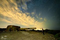 Encaonado (ppgarcia72) Tags: longexposure stella stars noche nikon estrellas guns mallorca caon largaexposicin samyang14mm nikond610