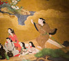 IMG_3068 (jaglazier) Tags: girls toronto ontario canada color men art boys japan architecture clouds ink writing portraits buildings painting paper children boats japanese gold tokyo women interiors drawing crafts traditional religion transport humor young may moustache rivers prints gilded shinto adults prostitutes inscriptions 18thcentury screens edo sexuality folding boatman royalontariomuseum priests signatures goldleaf rituals musicalinstruments punts brothels homosexuality polychrome 2016 polychromatic 5716 foldingscreens 18thcenturyad wakashu copyright2016jamesaglazier athirdgenderbeautifulyouthsinjapaneseprints