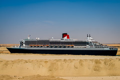 Queen Mary 2 (Richard_Turnbull) Tags: cruise canal nikon ship mary queen cunard flagship suez d600