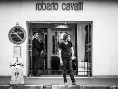 Roberto Cavalli (totofffff) Tags: street 2 white black france film festival alpes french riviera noir cannes 10 d mark olympus ii e roberto om cavalli blanc maritimes croisette mditerrane