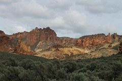 The scenery was simply sublime (rozoneill) Tags: lake oregon river carlton butte desert hiking painted canyon vale trail backpacking saddle blm uplands owyhee honeycombs