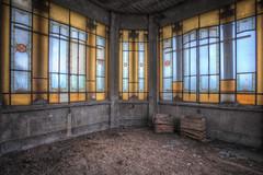 """ Glass......."" (Giovanni Cedronella) Tags: light abandoned architecture glasses shadows decay forgotten dust urbex"