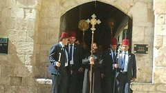 Israeli Extremists Attack Palestinian Christians During Pentecost Prayer, Shouting You Are Evil A group of Israeli extremists assaulted the Pentecostal prayer procession in Jerusalem this week, shouting and trying to occupy Mount Zion to keep the Christ (Palreports) Tags: israel palestine occupation