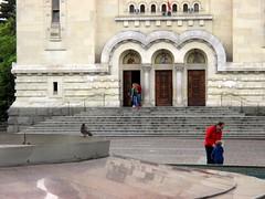 Cluj-Napoca - Avram Iancu square (Bogdan Pop 7) Tags: church architecture spring europe romania transylvania orthodox transilvania biserica kolozsvar cluj clujnapoca roumanie 2016 primavara erdly erdely kolozsvr ardeal romnia arhitectura klausenburg primvar biseric arhitectur
