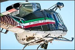 Bell 212 (Miguel Surez Miyar) Tags: italy nikon tiger zaragoza helicopter airforce nikkor afs helicptero tigermeet 80400 bell212 basemilitar natotigermeet tigermeet2016