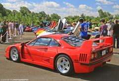 Italian Legend (FourOneTwo Photography) Tags: auto car ferrari exotic supercar sportscar ferrarif40 fouronetwophotography cfcharitiessupercarshow