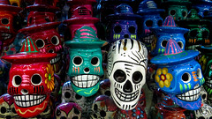 Mexican Skull Art (FotoGrazio) Tags: california stilllife art halloween composition ceramic skulls photography scary colorful flickr photoshoot sandiego fineart explore souvenir handpainted photographicart capture oldtown digitalphotography oldtownsandiego phototopainting 500px freeimage freepicture sandiegophotographer artofphotography downloadforfree californiaphotographer freetodownload mexicanskullart internationalphotographers worldphotographer photographersinsandiego fotograzio photographersincalifornia waynegrazio waynesgrazio