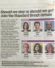 Img532810nx2 (veryamateurish) Tags: unitedkingdom referendum eu europeanunion debate london eveningstandard