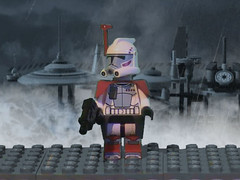 ARC trooper (*Zixx*) Tags: city trooper rain star lego arc battle wars clone kamino tipoca