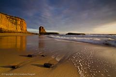 Four Mile Zen (andy_57) Tags: sunset santacruz beach rocks waves pacific zen seastack n2 goldenlight fourmile leefilters solmeta d7000 tokina1116mmf28g tpslandscape