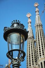 Barcelona, sagrada familia - Spanien