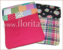 REF. 0058/2012 - Cases Notebook: Patchwork e Corujinhas! (.: Florita :.) Tags: netbook ipad capanotebook bolsaflorita casenotebook bolsanotebook caseipad bolsacasenoteenetbook bolsanetbook casenotebookemtecido caseemtecido