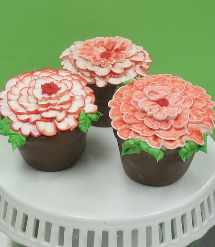 [Image from Flickr]:Carnation Cakes (serves 2-4)