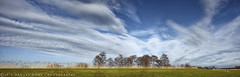 ...in peace... (Marijke M2011) Tags: panorama nature clouds landscape mood tranquility bluesky thenetherlands canon5dmarkii
